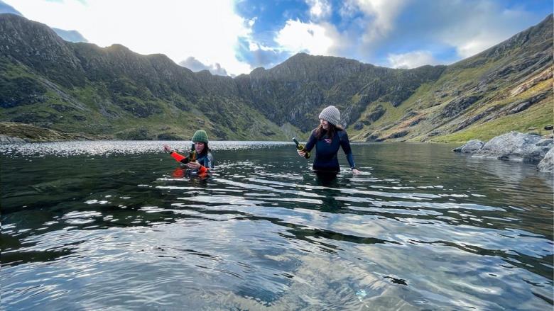 waterloggers visit Cader Idris