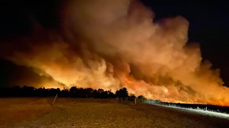 珀斯北部的森林大火迫在眉睫