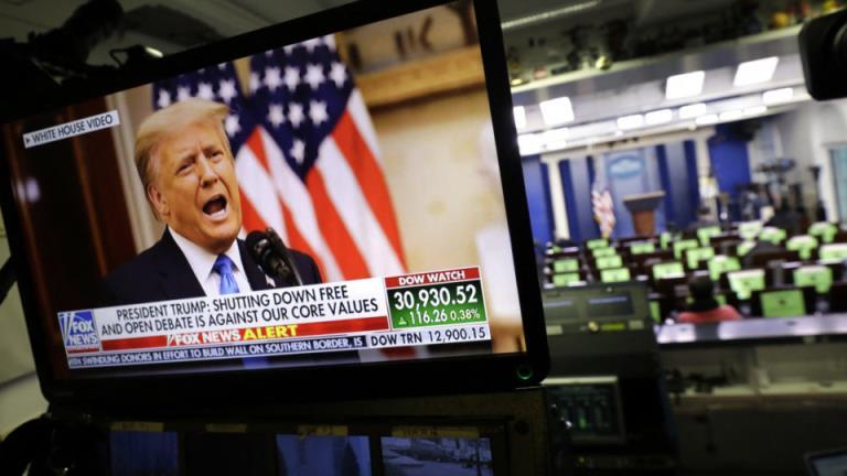 """""""才刚刚开始"""":唐纳德·特朗普的告别演讲没有提到乔·拜登的名字"""
