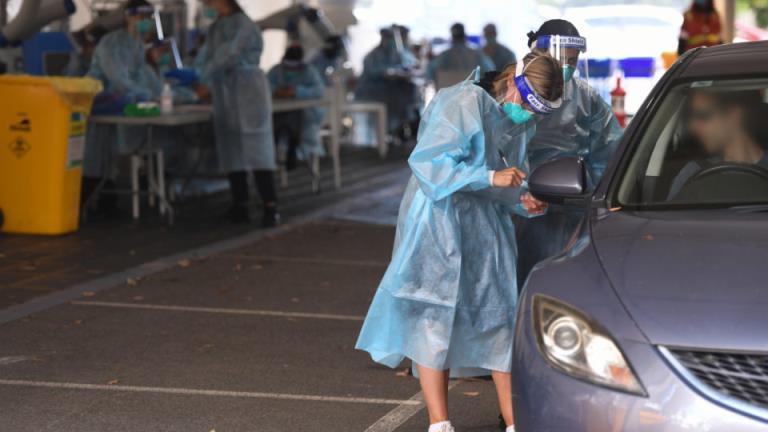 隔离病例确诊为传染性英国变种病毒测试闪电战仍在继续