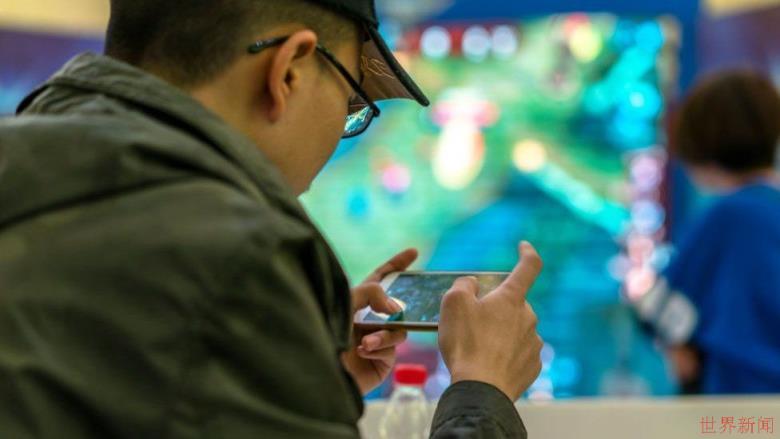 腾讯在中国的收入得益于游戏的繁荣