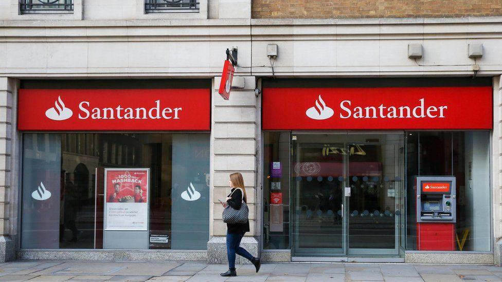 桑坦德银行将关闭100多家分行