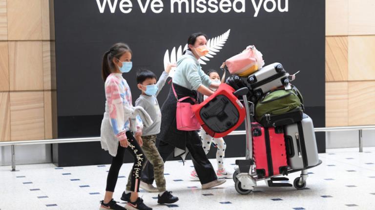 """新西兰航空公司公布了""""世界第一""""旅行泡沫的可能开始日期"""