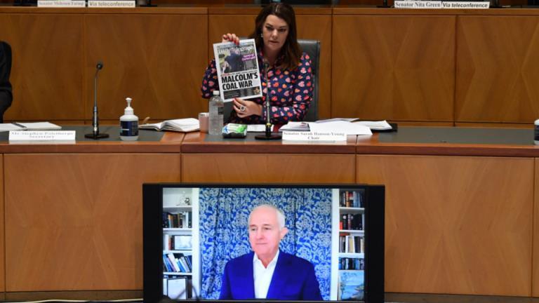 """马尔科姆·特恩布尔(Malcolm Turnbull)称,新闻集团是""""澳大利亚最有权势的政治演员"""""""