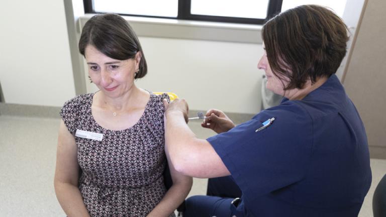 "Gladys Berejiklian称,澳大利亚有被疫苗问题""甩在后面""的风险"