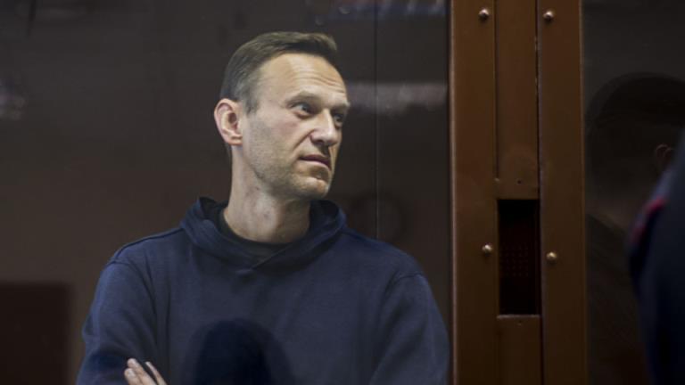 被监禁的克里姆林宫评论家阿列克谢·纳瓦尔尼将被送往医院