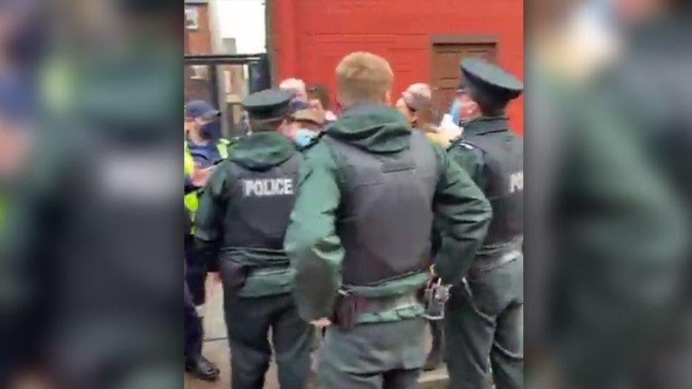Ormeau被捕:北爱尔兰警局要求不予置评