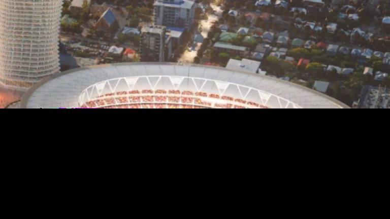 重建加巴在昆士兰州的奥林匹克申办中心