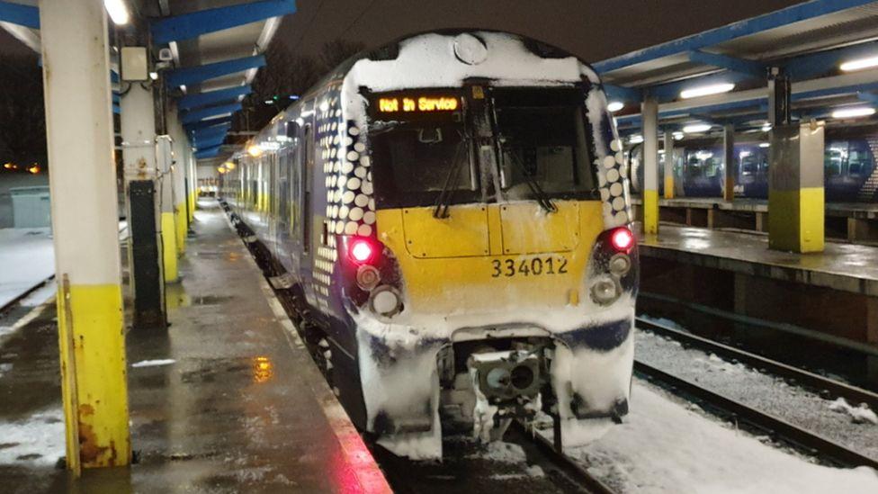 铁路和公路问题,气温达到新低