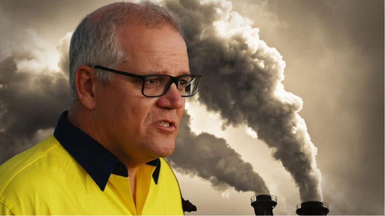 """莫里森因对酒吧的嘲讽而被指控对气候问题""""根本的背叛"""""""