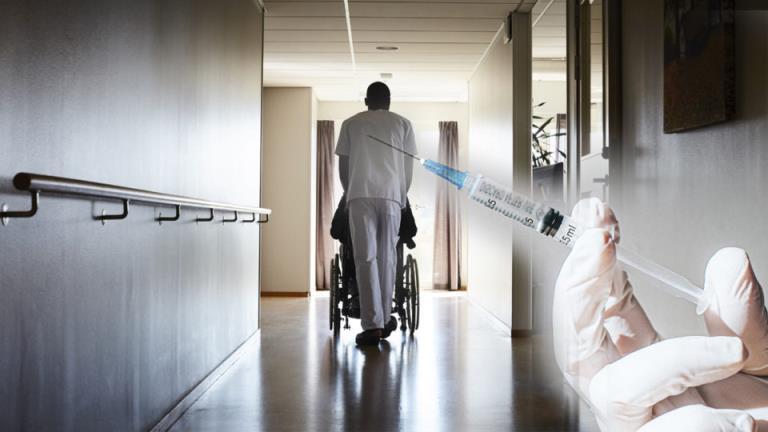 """""""不可原谅"""":到目前为止,只有6%的残疾居民接种了疫苗"""