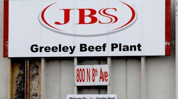 JBS的网络攻击对肉类供应意味着什么