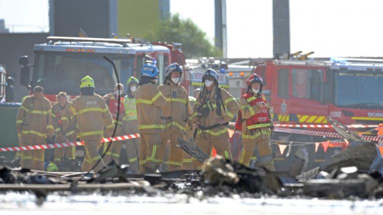 飞行员的重点调查致命的DFO飞机坠毁