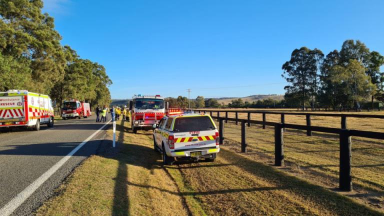 5匹赛马在新南威尔士州卡车相撞后死亡