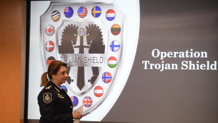 特洛伊盾牌行动:一个澳大利亚人和一个通讯应用程序如何导致巨大的全球犯罪陷阱