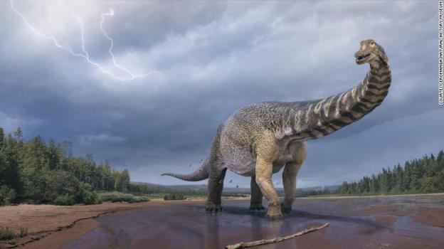 这种古老的恐龙将与今天的蓝鲸一较高下