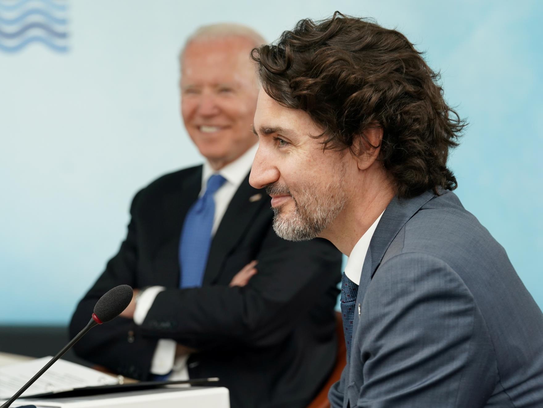 加拿大特鲁多表示,他与拜登讨论了边界问题,但没有达成协议