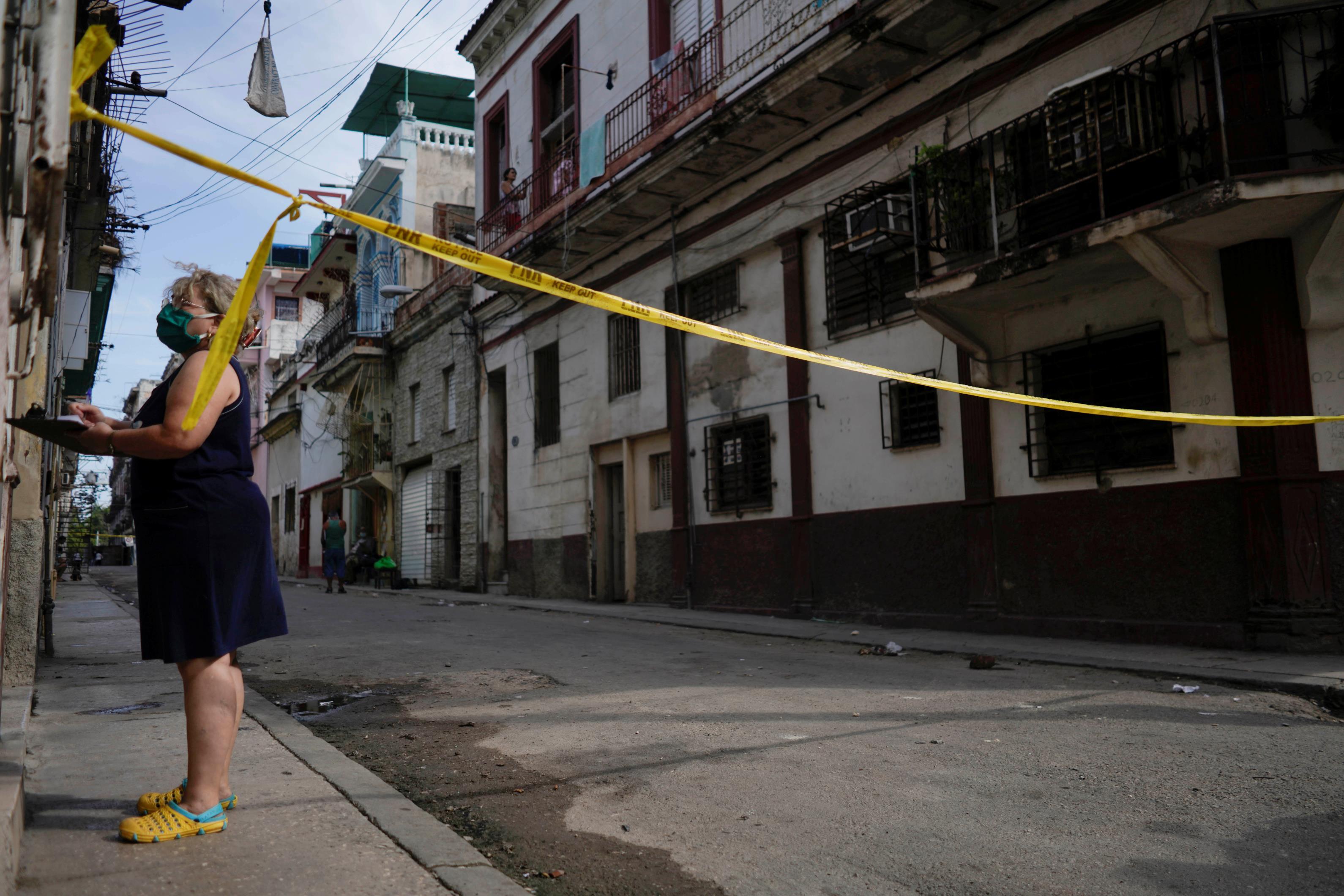 哈瓦那COVID-19病例的减少增加了古巴疫苗发挥作用的希望
