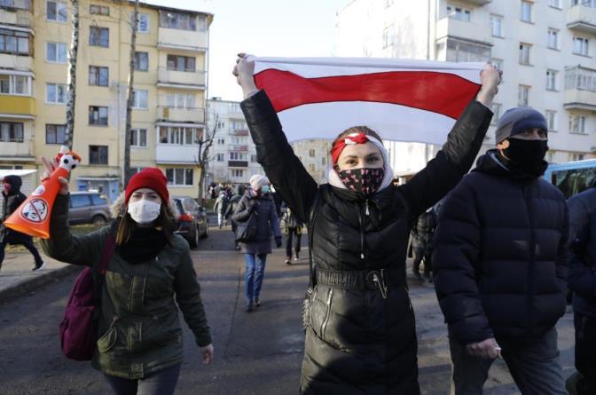 警方说,白俄罗斯流亡组织负责人在基辅失踪
