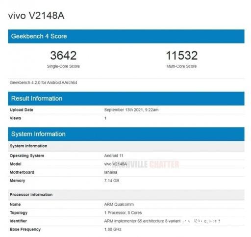 iQOO Z5 Pro现身Geekbench:骁龙778G加持【今日热点】