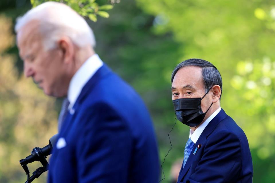 拜登将会见四国领导人,日本、印度和澳大利亚