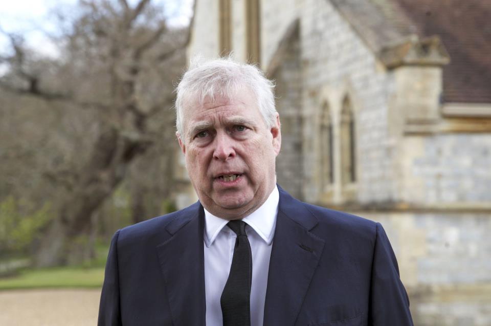 英国安德鲁王子将在吉弗的诉讼中挑战美国法院
