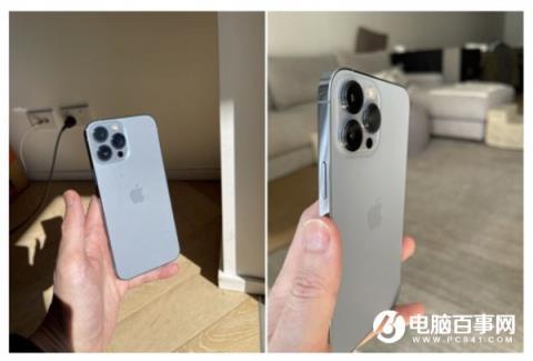 iPhone 13出货:远峰蓝新配色真机实拍【今日推荐】