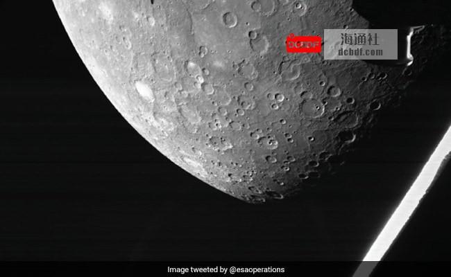 欧洲-日本太空任务发送了第一张水星图像