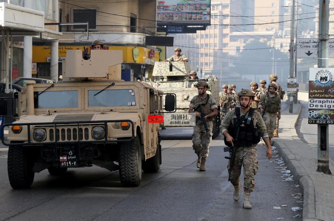 黎巴嫩军队逮捕了与贝鲁特武装冲突有关的9人