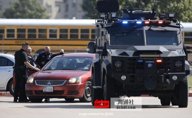 18岁少年在美国学校开枪,4人受伤:警察