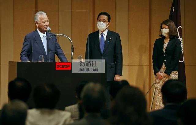 岸田文雄任命前经济大臣甘利明为自民党二号人物